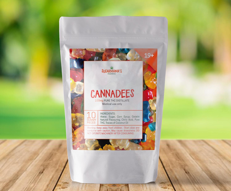 Flexible Pack-Cannabis Gummies
