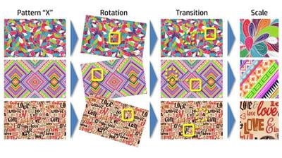 Flexible Pack-digital printing-mosaic-unlimited deisgn generator-seed design-one key-blog-social media