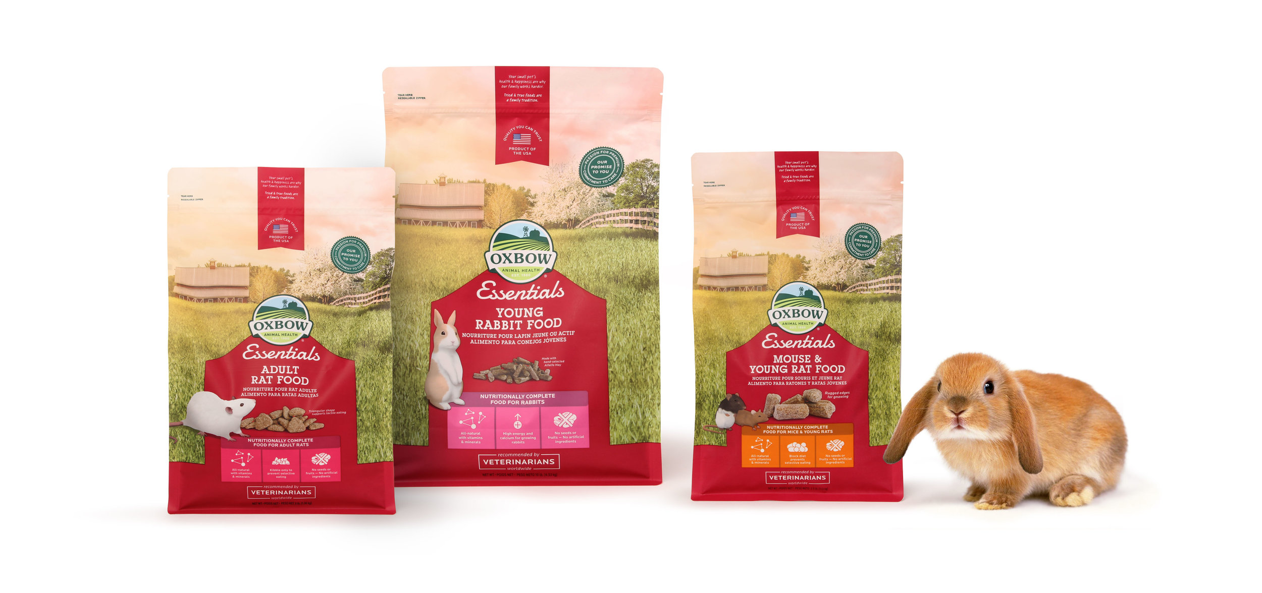 Flexible Pack_Pet food_Pouches example_Oxbow